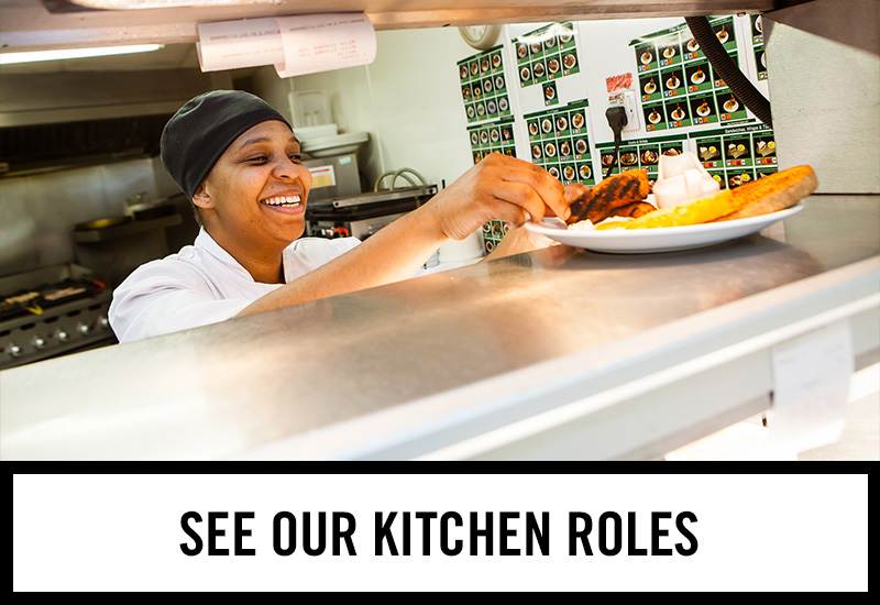 Kitchen roles at Robbins' Well